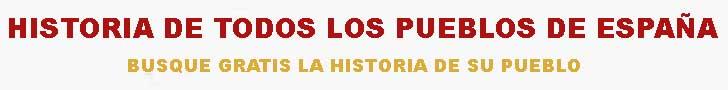 Pueblos de Espa�a. Historia. Diccionario Madoz.