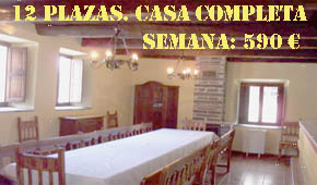 Casa rural de alquiler completo Cumbres Borrascosas. Bierzo, Len. Lmite entre Cepeda y Maragatera. Cerca de las mdulas, torneos medievales, embalse para deportes acuticos. Minas de oro romanas. Agroturismo. Talleres literarios.